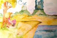 dziewczynka-smok-i-zamek